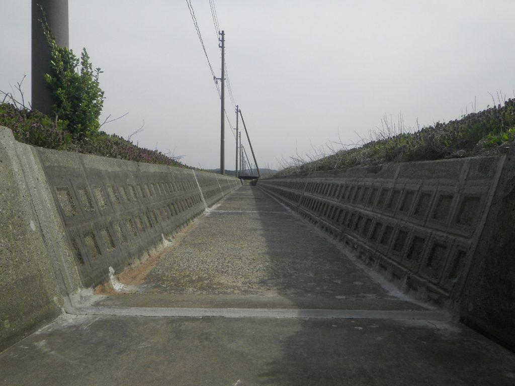 張りブロック製水路 目地補修工事(新潟県長岡市)